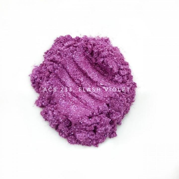 Косметический пигмент ACS223 Flash Violet (Вспыхивающий фиолетовый), 10-100 мкм