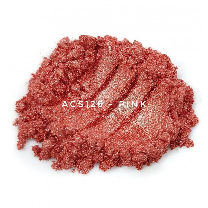 Косметический пигмент ACS126 Pink (Розовый), 10-60 мкм