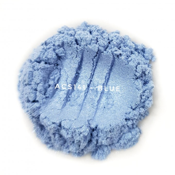 Косметический пигмент ACS141 Dark Blue (Темно-синий), 10-60 мкм