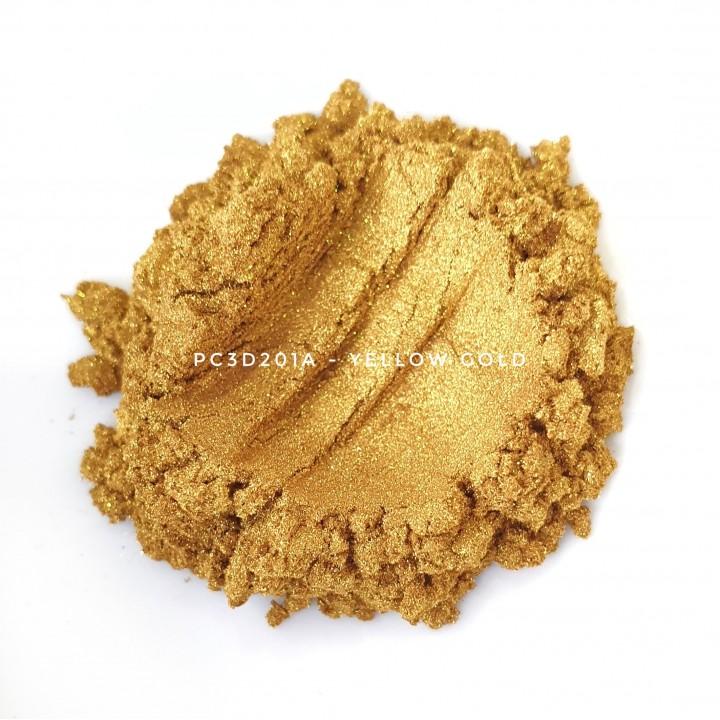 Косметический пигмент PC3D201A Royal Gold (Королевское золото), 10-60 мкм