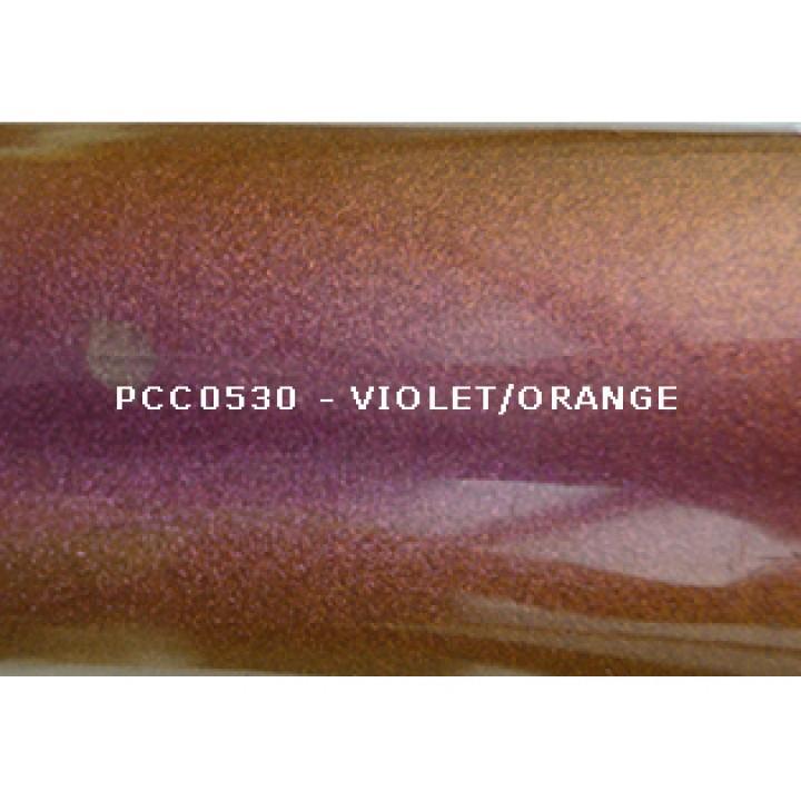 Косметический пигмент PCC0530 Violet/Orange (Фиолетовый/оранжевый), 20-80 мкм
