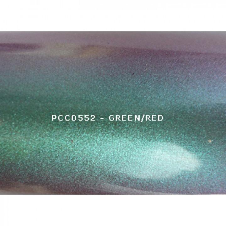Косметический пигмент PCC0552 Green/Red (Зеленый/красный), 20-80 мкм