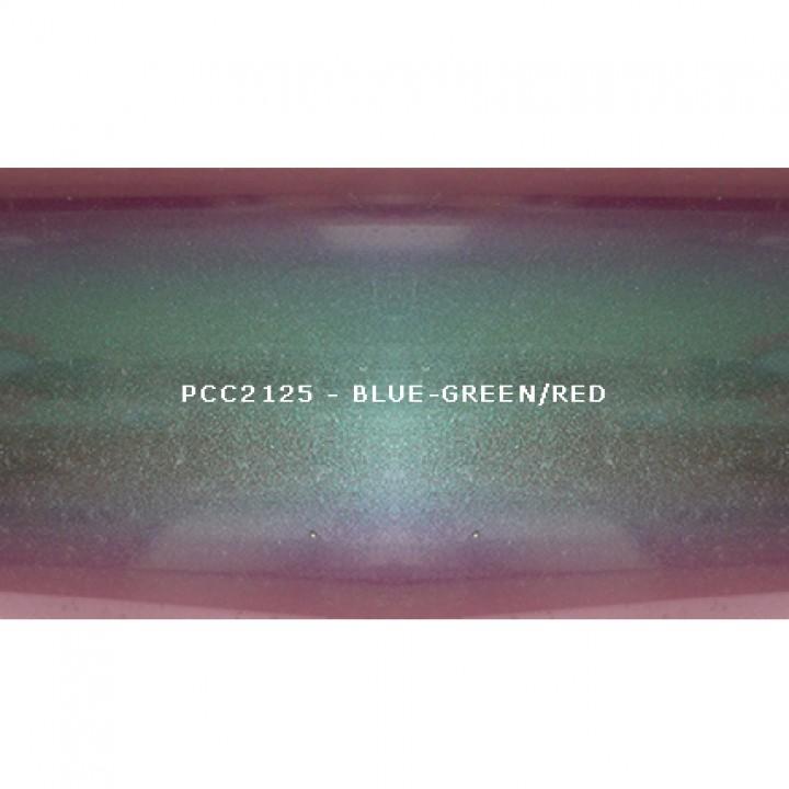 Косметический пигмент PCC2125 Blue-green/blue/violet/red (Сине-зеленый/синий/фиолетовый/красный), 100-250 мкм