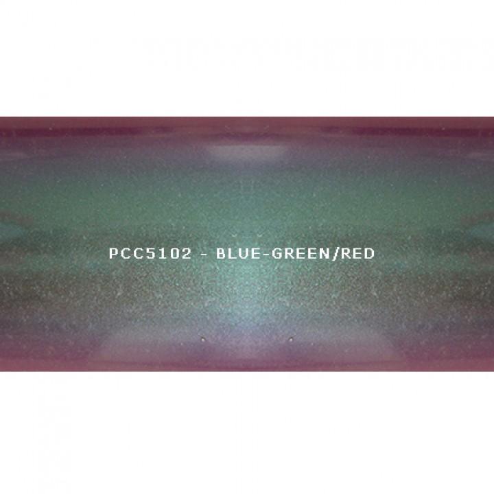 Косметический пигмент PCC5102 Blue-green/blue/violet/red (Сине-зеленый/синий/фиолетовый/красный), 5-25 мкм