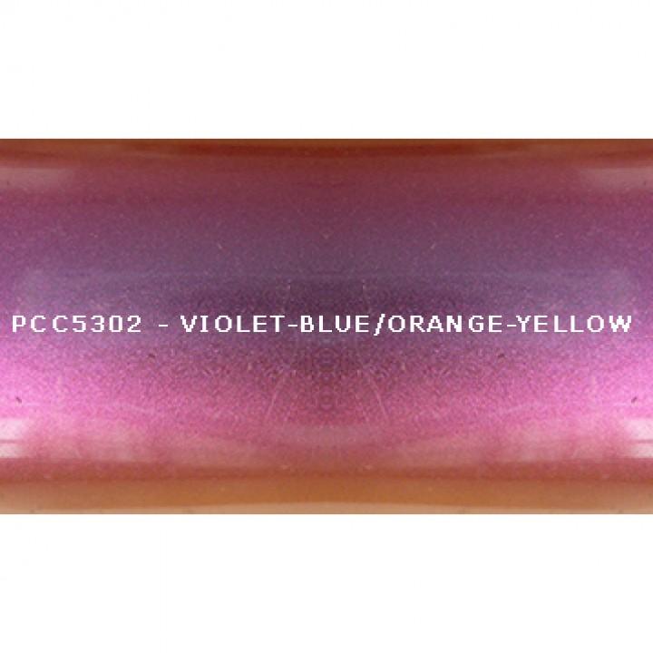 Косметический пигмент PCC5302 Violet-blue/violet/red/orange-yellow (Фиолетово-синий/фиолетовый/красный/оранжево-желтый), 5-25 мкм
