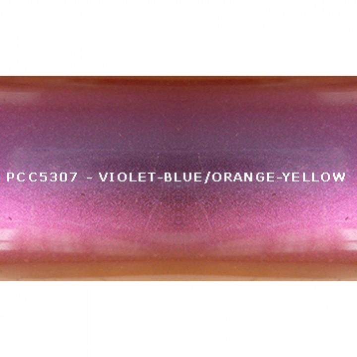 Косметический пигмент PCC5307 Violet-blue/violet/red/orange-yellow (Фиолетово-синий/фиолетовый/красный/оранжево-желтый), 10-70 мкм