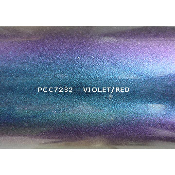 Косметический пигмент PCC7232 Violet/Red (Фиолетовый/красный), 30-115 мкм