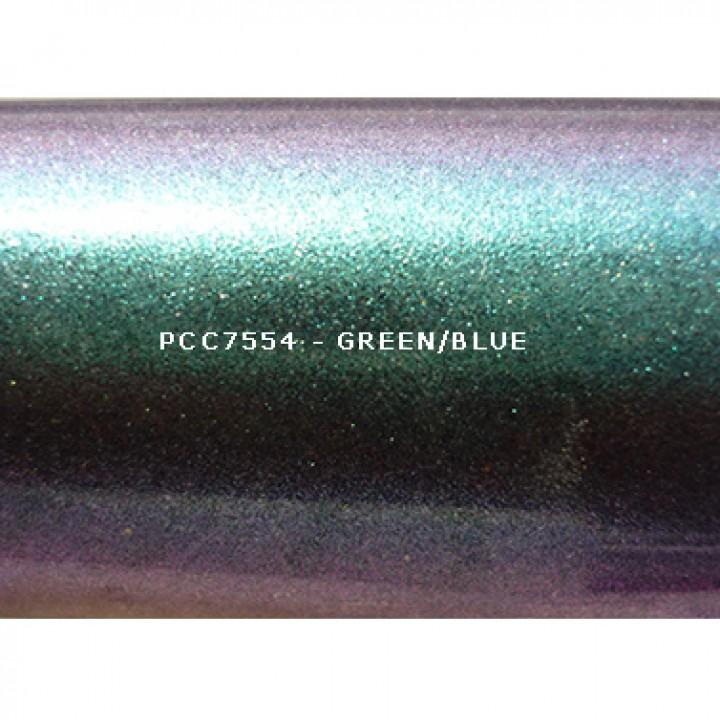 Косметический пигмент PCC7554 Green/Blue (Зеленый/синий), 30-115 мкм