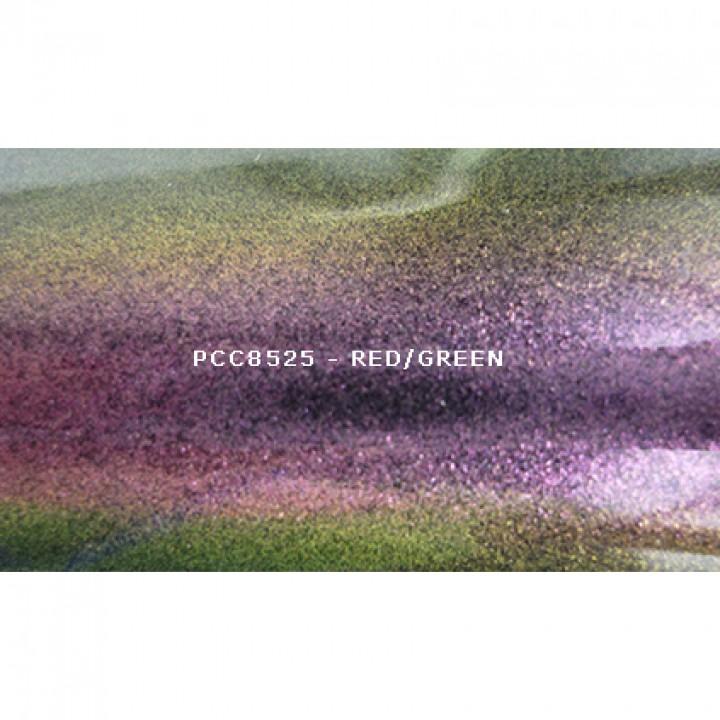 Косметический пигмент PCC8525 Red/Green (Красный/зеленый), 30-115 мкм