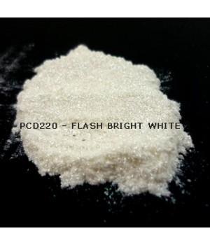 PCD220 - Вспыхивающий ярко-белый, 20-100 мкм (Flash Bright White)