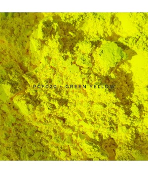 PCF020 - Зелено-желтый, 1-2 мкм (Green Yellow)
