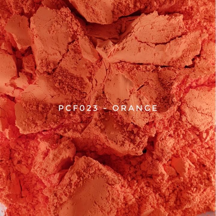 Косметический пигмент PCF023 Orange (Оранжевый), 1-2 мкм