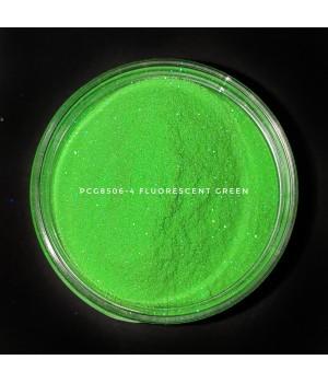 PCG8506-100 - Флуоресцентный зеленый глиттер, 100-100 мкм (Fluorescent Green)