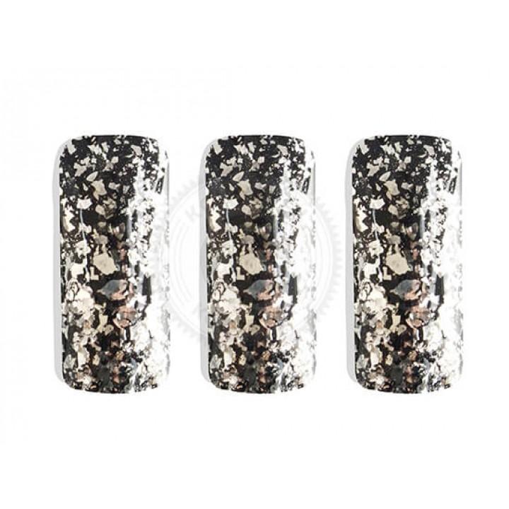 Косметический пигмент PCGF520 Silver Flake (Серебряный флейк), 300-3000 мкм