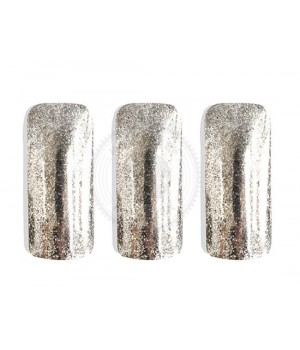 PCGF523 - Серебряный флейк, 100-450 мкм (Silver Flake)