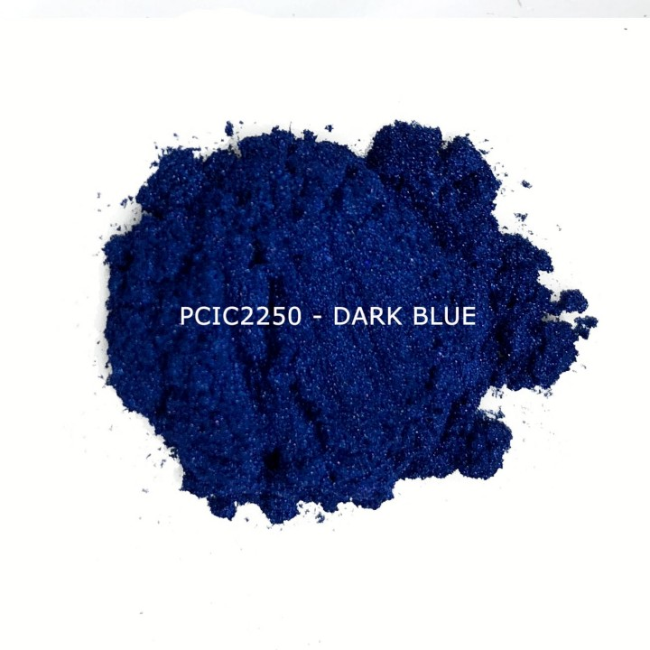 Косметический пигмент PCIC2250 Dark Blue (Темно синий), 10-60 мкм