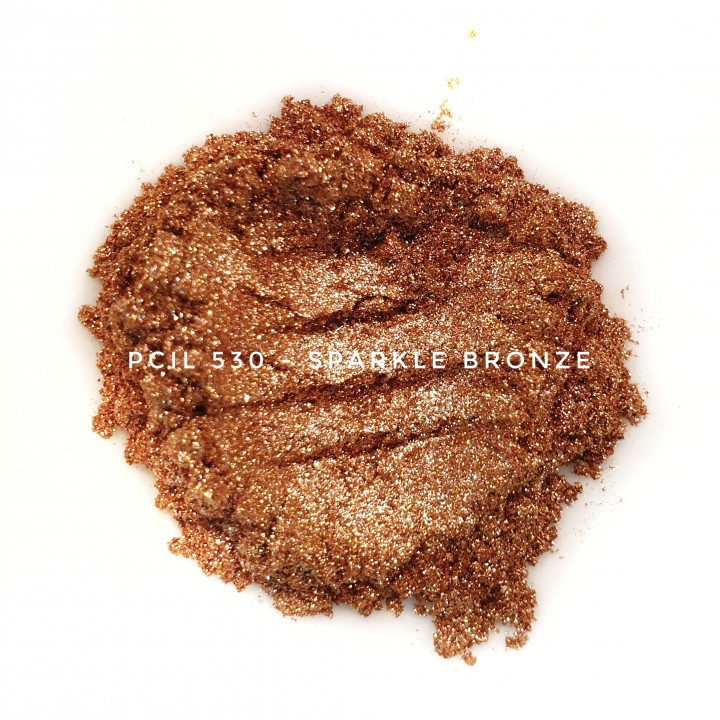 Косметический пигмент PCIL530 Flash Bronze (Вспыхивающая бронза), 10-100 мкм