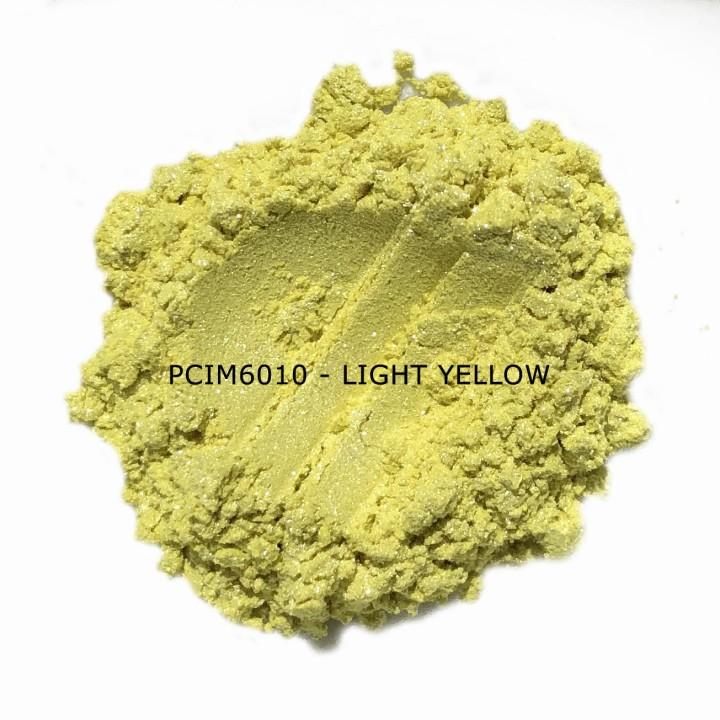 Косметический пигмент PCIM6010 Light Yellow (Светло-желтый), 10-60 мкм