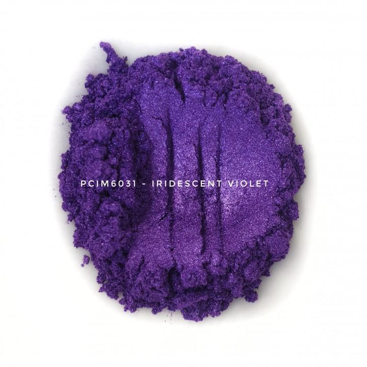 Косметический пигмент PCIM6031 Iridescent Violet (Радужный фиолетовый), 10-60 мкм