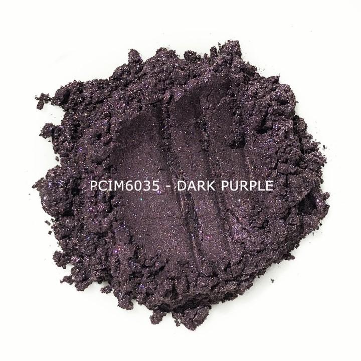 Косметический пигмент PCIM6035 Dark Purple (Темно-пурпурный), 10-60 мкм