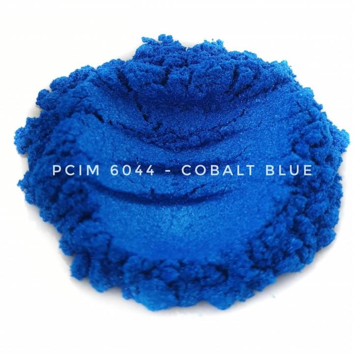 Косметический пигмент PCIM6044 Cobalt Blue (Кобальтово-синий), 10-60 мкм