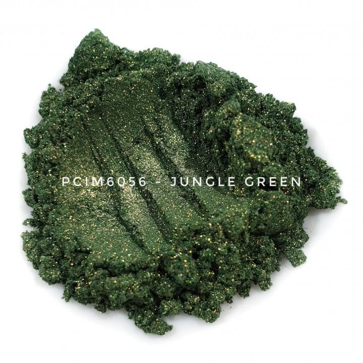Косметический пигмент PCIM6056 Jungle Green (Зеленые джунгли), 10-60 мкм
