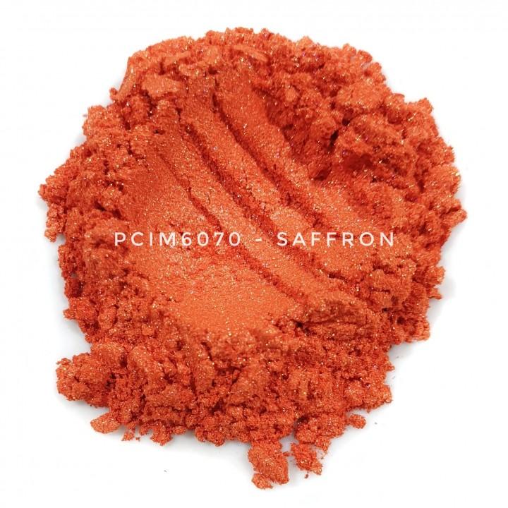 Косметический пигмент PCIM6070 Saffron (Шафран), 10-60 мкм