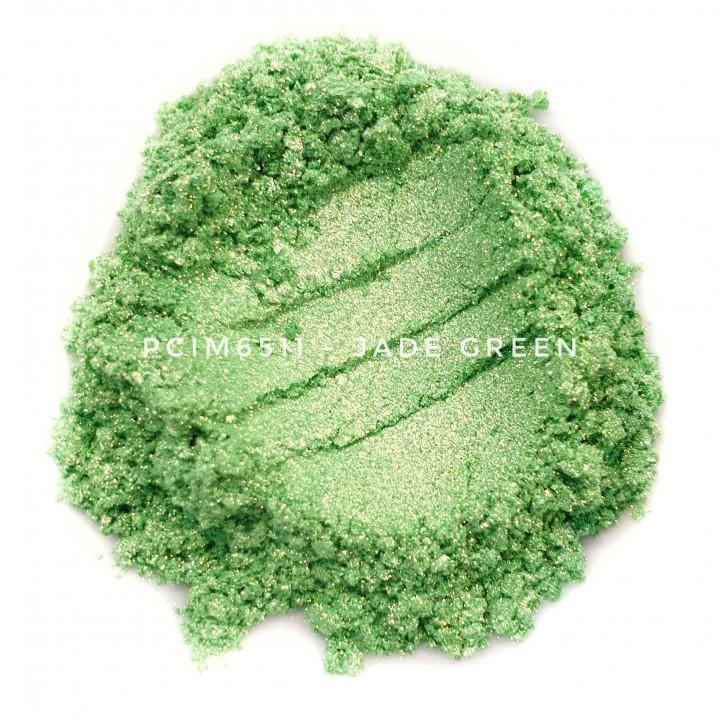 Косметический пигмент PCIM6511 Jade Green (Зеленый нефрит), 10-60 мкм