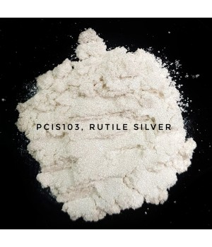 PCIS103 - Рутильный серебряный, 10-60 мкм (Rutile Silver)