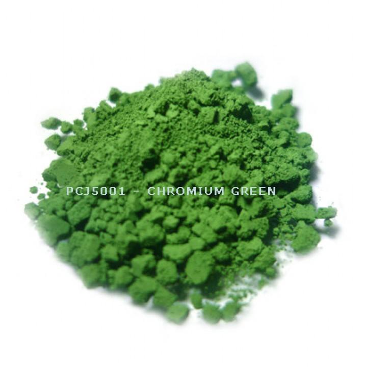 Косметический пигмент PCJ5001 Chromium Green (CI 77288) (Хромовый зеленый), 0-1 мкм