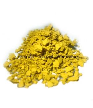 PCJ8103 - Железооксидный желтый, 0-1 мкм (Iron Oxides Yellow (CI 77492))