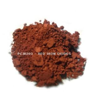 PCJ8203 - Железооксидный красный, 0-1 мкм (Iron Oxides Red (CI 77491))