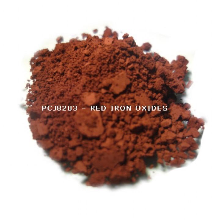 Косметический пигмент PCJ8203 Iron Oxides Red (CI 77491) (Железооксидный красный), 0-1 мкм