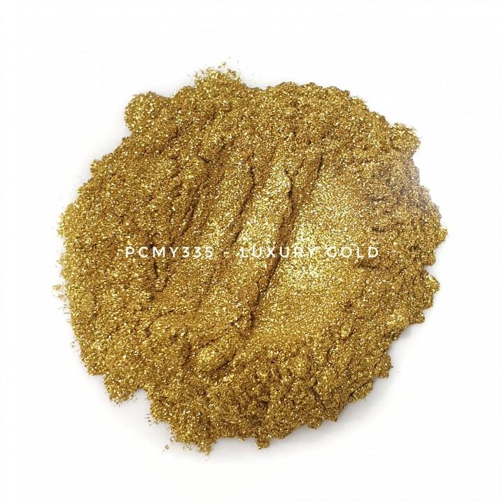 Косметический пигмент PCMY335 Luxury Gold (Роскошное золото), 35-55 мкм