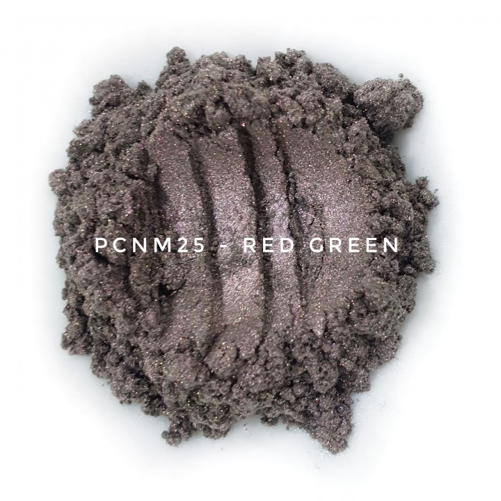 Косметический пигмент PCNM25 Red Green (Красно-зеленый), 10-60 мкм