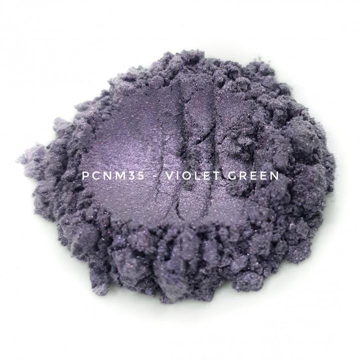 Косметический пигмент PCNM35 Violet Green (Фиолетово-зеленый), 10-60 мкм