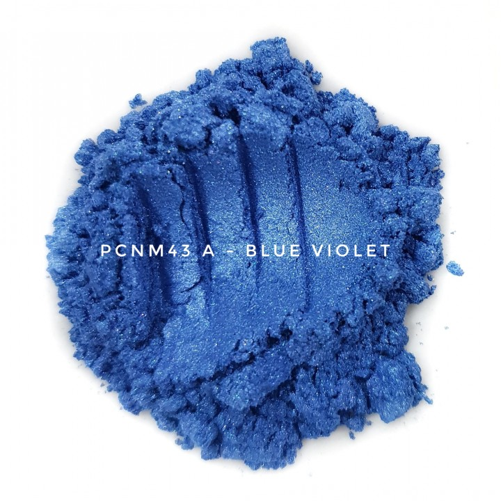Косметический пигмент PCNM43A Blue Violet (Сине-фиолетовый), 10-60 мкм