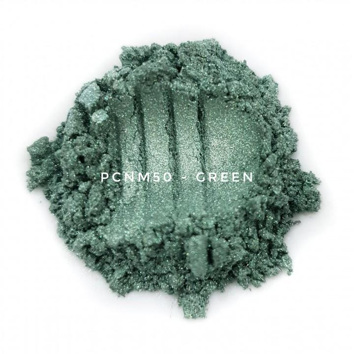 Косметический пигмент PCNM50 Green (Зеленый), 10-60 мкм