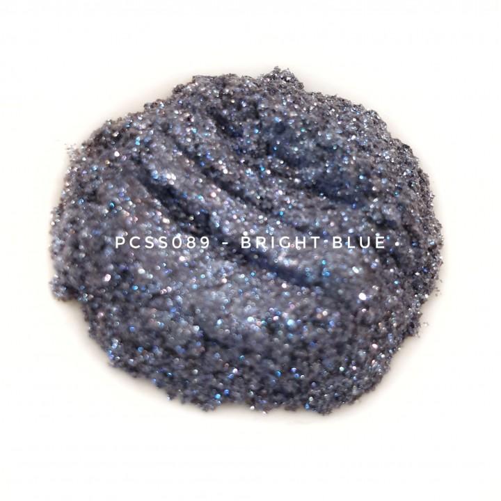 Косметический пигмент PCSS089 Bright Blue (Ярко-синий), 30-150 мкм