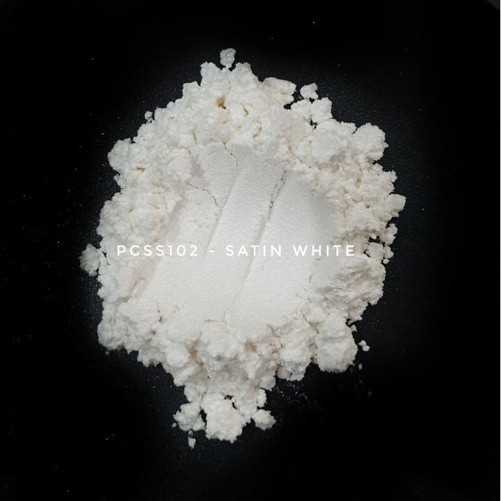 Косметический пигмент PCSS102 Satin White (Атласный белый), 5-25 мкм