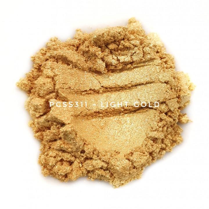 Косметический пигмент PCSS311 Light Gold (Светлое золото), 10-60 мкм