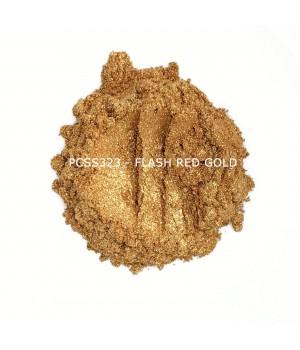PCSS323 - Крупное красное золото, 20-100 мкм (Flash Red Gold)