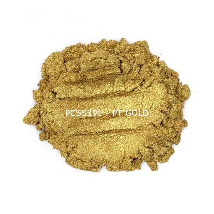 Косметический пигмент PCSS391 Pt Gold (Платиновое золото), 10-60 мкм