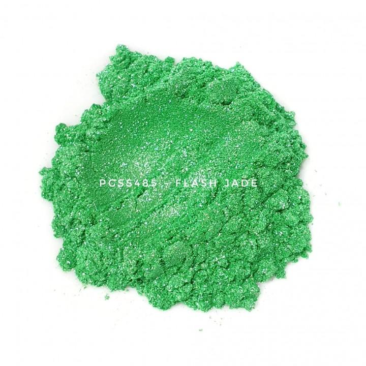 Косметический пигмент PCSS485 Flash Jade (Вспыхивающий нефрит), 10-100 мкм