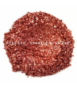 PCSS563 - Искристый винно-красный, 60-300 мкм (Sparkle Wine Red)