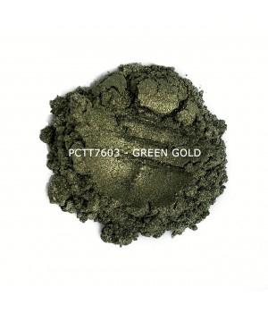 PCTT7603 - Зелено-золотой, 10-60 мкм (Green Gold)
