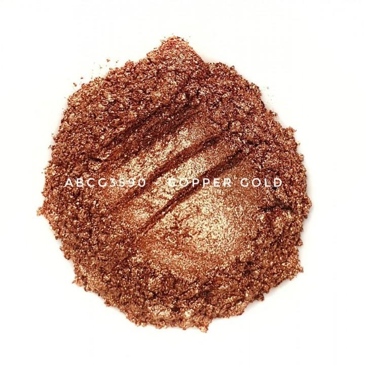 Индустриальный пигмент ABCG3590 Copper Gold (Медное золото), 35-90 мкм