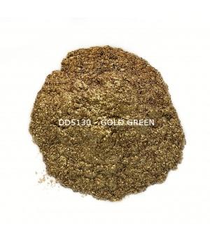 DD5130 - Золотой/зеленый, 50-100 мкм (Gold Green)
