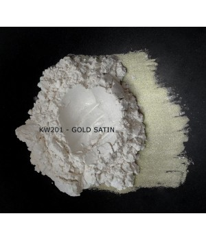 KW201 - Золотой атлас, 5-25 мкм (Gold satin)