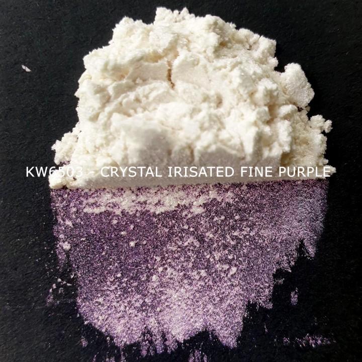 Индустриальный пигмент KW6503 Crystal Irisated Fine Purple (Пурпурный), 10-60 мкм
